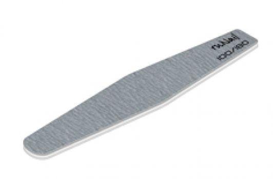 Профессиональная пилка для искусственных ногтей (серая, ромб, 100/180)