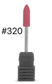 Фреза силикон-карбидная Пуля для полировки, диам.: 5Х15 мм, c мелкодисперстной крошкой №320
