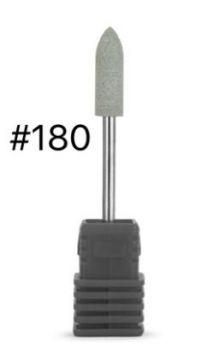 Фреза силикон-карбидная Пуля для полировки, диам.: 5Х15 мм, c мелкодисперстной крошкой №180