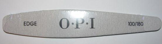 Серая пилка EDGE OPI 100/180 (оригинал)