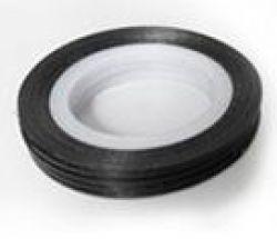 DL-03J Декоративная лента черного цвета