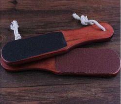 TDN-01 Терка для ног (2-х сторон. ,деревянная ручка)