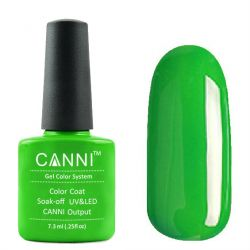 Гель-лак «Canni» #160 Bright Green 7,3ml.