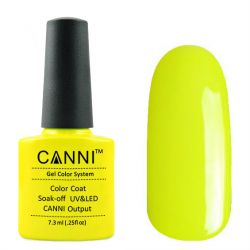 Гель-лак «Canni» #140 Electric Yellow 7,3ml.