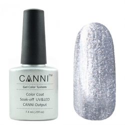 Гель-лак «Canni» #008 Metallic Silver 7,3ml.