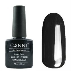 Гель-лак «Canni» #132 Dark Grey 7,3ml.