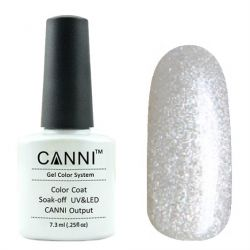 Гель-лак «Canni» #206 Flash White 7,3ml.