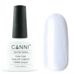 Гель-лак «Canni» #023 Pure White 7,3ml.(белый)