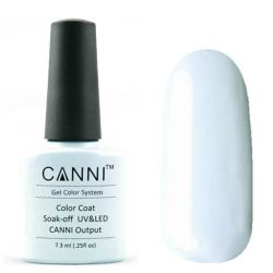 Гель-лак «Canni» #038 Light Blue-gray 7,3ml.