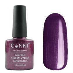 Гель-лак «Canni» #196 Plum Nacre 7,3ml.