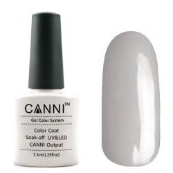 Гель-лак «Canni» #145 Greyish White 7,3ml.