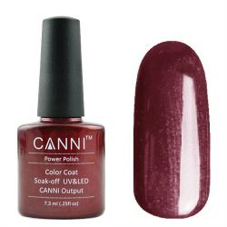 Гель-лак «Canni» #123 Mysterious Red 7,3ml.