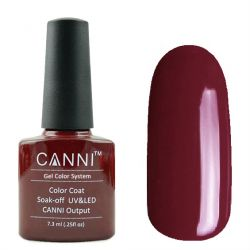Гель-лак «Canni» #181 Raspberry Red 7,3ml.