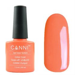 Гель-лак «Canni» #141 Shock Orange 7,3ml.