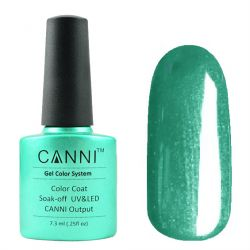 Гель-лак «Canni» #204 Shiny Peacock Green 7,3ml.
