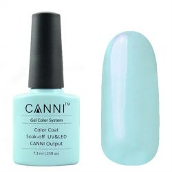 Гель-лак «Canni» #004 Cyan Light 7,3ml.