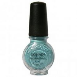 Лак для стемпинга Konad Hepburn Blue (11ml) Бирюзовый