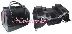 Саквояж-трансформер черный