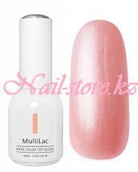 MultiLac, гель-лак 4 в 1 (перламутровый, Шампань, Champange), 15 мл