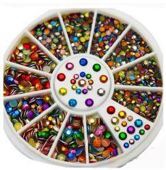 KM-14 Цветные декоративные стразы