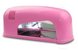 JD-906 Ультрафиолетовая лампа 9 W (розовая)