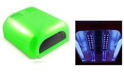 UV+LED лампа 36ВТ (салатовая)