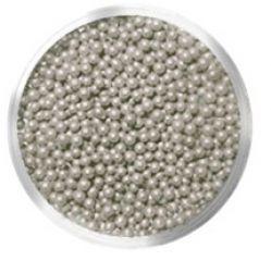 Бульонки № 416 SMALL SEVERINA (серебро, непрозрачные)
