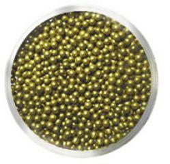 Бульонки № 407 SMALL SEVERINA (золото, непрозрачные)