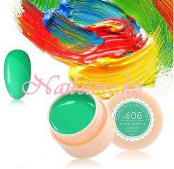 №608 Гель-краска CANNI 5 мл (весенне-зеленая)