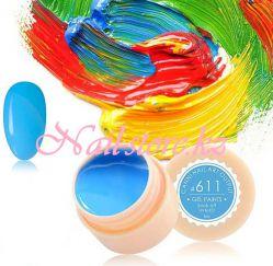 №611 Гель-краска CANNI 5 мл (сине-голубая)