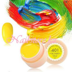 №601 Гель-краска CANNI 5 мл (теплая желтая)