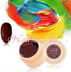 №628 Гель-краска CANNI 5 мл (коричнево-бордовая)