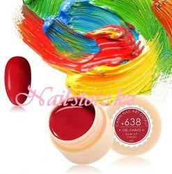 №638 Гель-краска CANNI 5 мл (красная)