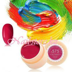 №575 Гель-краска CANNI 5 мл (пастельная красная)