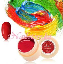 №542 Гель-краска CANNI 5 мл (темно-красная)