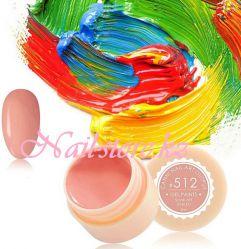 №512 Гель-краска CANNI 5 мл (розово-карамельная)