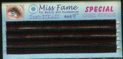 Ресницы в панеле Speclal mink eyelash MissFame 8mm/D