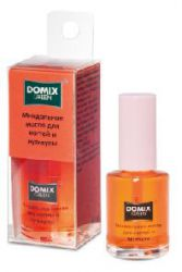Миндальное масло для ногтей и кутикулы DOMIX 11мл.