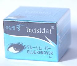 Крем-дебондер для снятия нарощеных ресниц baisidai 5g