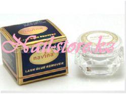 Крем-дебондер для снятия нарощеных ресниц Navina 5g