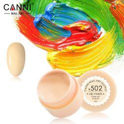 №502 Гель-краска CANNI 5 мл (пастельно-желтая)