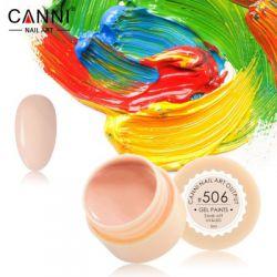 №506 Гель-краска CANNI 5 мл (бледно-карамельная)
