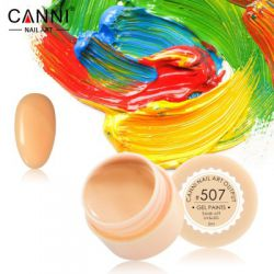 №507 Гель-краска CANNI 5 мл (бледно-оранжевая)