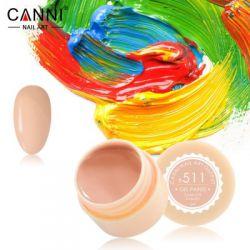 №511 Гель-краска CANNI 5 мл (пастельно-оранжевая)