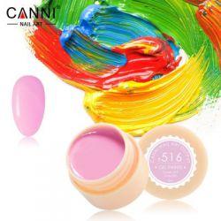 №516 Гель-краска CANNI 5 мл (пастельная лилово-розовая)