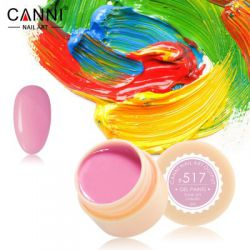 №517 Гель-краска CANNI 5 мл (лилово-розовая)