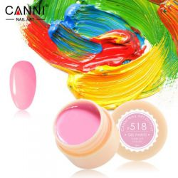 №518 Гель-краска CANNI 5 мл (ярко-розовая)
