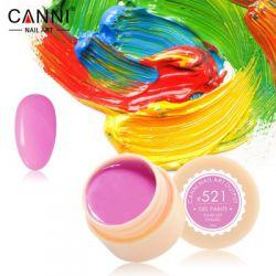 №521 Гель-краска CANNI 5 мл (светлая фуксия)