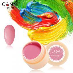 №525 Гель-краска CANNI 5 мл (пастельная светло-малиновая)
