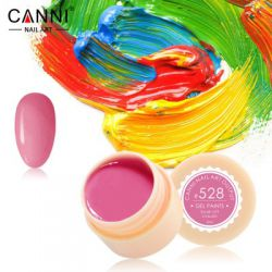№528 Гель-краска CANNI 5 мл (ярко-розовая)